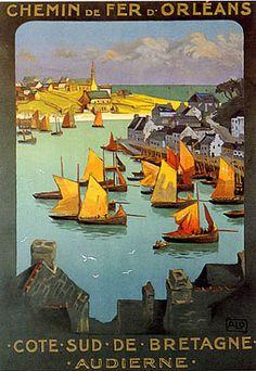 Anciennes affiches de France dans Photographies de la France d'autrefois allo-charles-chemi-de-fer-dorleans-9951249