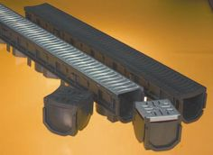 Floplast Driveway Drainage Channels - All About Driveway Drain, Driveway Landscaping, Landscaping Ideas, Drainage Solutions, Drainage Ideas, Backyard Drainage, Drainage Channel, Concrete Driveways, Cool Diy