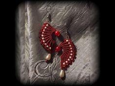 """Tutorial macramè orecchini """"Sarah""""/Tutorial macramé earrings """"Sarah""""/Diy tutorial - YouTube"""