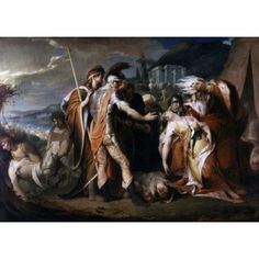 King Lear Weeping over the Body of Cordelia James Barry (1741-1806 Irish) Canvas Art - James Barry (18 x 24)
