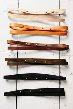 Lovely belts in a carefully-edited colour palette: think autumn, vintage Americana. Clothing, Shoes & Jewelry - Women - women's belts - http://amzn.to/2kwF6LI