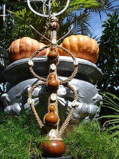 Xaxará, objeto dos orixas obaluaye, sapata, omolu.
