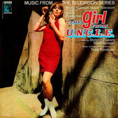 The Girl from U.N.C.L.E soundtrack album - how great does this look?