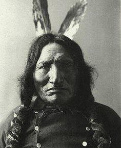 """Red Horse was born in 1822 in to the Wagleza-oin band, Miniconjou subdivision of Sioux tribe. He was one of the principal chiefs of the Miniconjous (150 lodges) at the """"Little Big Horn"""" camp. During the famous battle, he actively fought against both Reno and Custer. http://bit.ly/Yz3arH"""