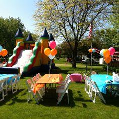 DIY carnival birthday
