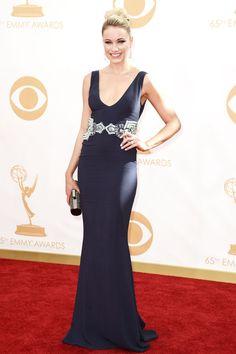 Katrina Bowden at the Emmy Awards 2013