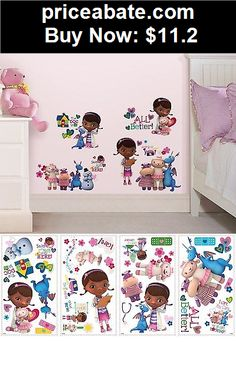 Kids-at-Home: 27 New DOC MCSTUFFINS WALL DECALS Disney Bedroom Stickers Girls Toy Room Decor - BUY IT NOW ONLY $11.2