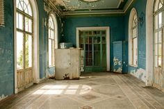 Abandoned Railway Station in Abkhazia, former Russia