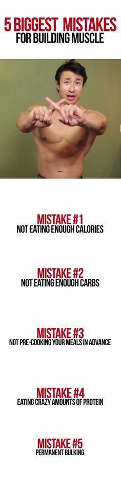 I'm going to show you the five most common mistakes guys make with their diet when trying to build muscle that prevent them from EVER gaining size. I also show you how to avoid each mistake, and what to do instead so that you get the strong, muscular body you want...