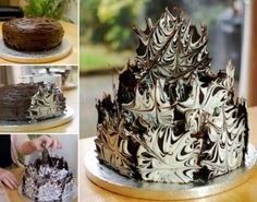 Chocolate Shard Cake Decorations Recipe Video Tutorial