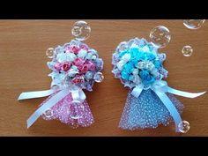 Making Wedding Candy From Ping-Pong Ball - Pinpon Topundan Nikah Şekeri (Hediyelik) Yapımı - YouTube