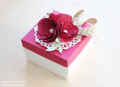 Anleitung Tutorial Stampin Up Geschenkbox Envelope Board Box 041