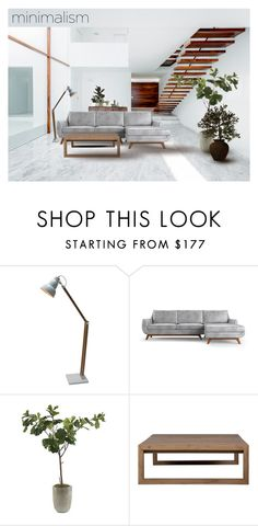 """""""My Dream Living Room"""" by gangdise ❤ liked on Polyvore featuring interior, interiors, interior design, home, home decor, interior decorating, Joybird Furniture, Frontgate, Flamant and living room"""