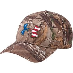 Under Armour® Men's AllSeasonGear® Big Flag Logo Cap