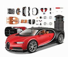 Nice Awesome 1:24 Bugatti Chiron Assembly Line Metal Diecast KIT Model Car Vehicle New in Box 2017/2018 Check more at http://24cars.ga/my-desires/awesome-124-bugatti-chiron-assembly-line-metal-diecast-kit-model-car-vehicle-new-in-box-20172018/