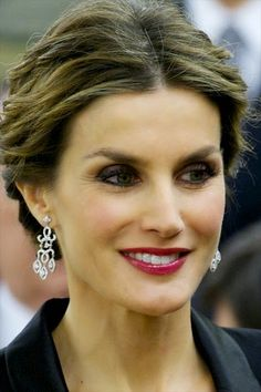 Queens & Princesses -  King Felipe and Queen Letizia received in audience at the Zarzuela Palace, the participants in an international conference on skin cancer.
