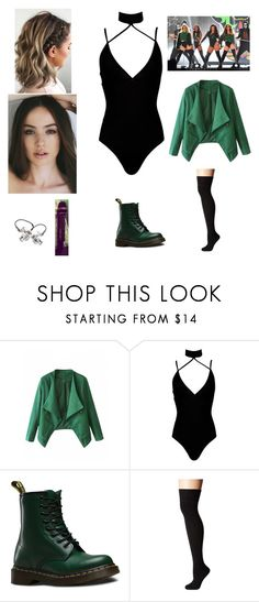 """Brit Awards 2016"" by andreaosorio16012 on Polyvore featuring moda, Boohoo, Dr. Martens, Socksmith y BRIT*"