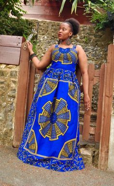 Your place to buy and sell all things handmade African Formal Dress, Best African Dresses, Latest African Fashion Dresses, African Print Dresses, African Print Fashion, Women's Fashion Dresses, Maxi Dresses, African Clothes, Ethnic Fashion