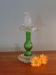 Garden art garden totem glass suncatcher  by ReCreationsInGlass, $39.00