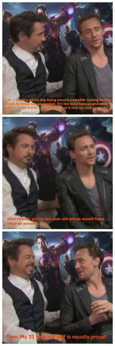 HAHAHA Who knew Loki was so funny!!! Avengers... gotta LOVE it!!