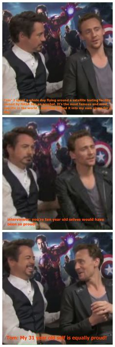 HAHAHA Who knew Loki was so funny!!! Avengers... gotta LOVE it!!