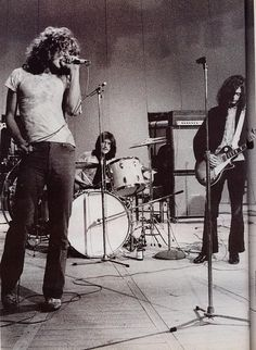 Robert Plant, Jimmy Page, John Bonham   Led Zeppelin