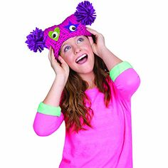 Fashion Angels Darn Yarn Monster Hat Fashion Angels http://www.amazon.com/dp/B00IC5R0PS/ref=cm_sw_r_pi_dp_K7pFub0ETANCX