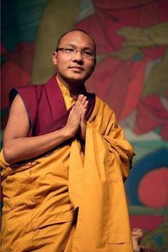 """The Karmapa: Head of the Karma Kagyu Sect of Tibetan Buddhism - LOVE LOVE LOVE HIS BOOK """"THE HEART IS NOBLE"""" one of my favorites :)"""