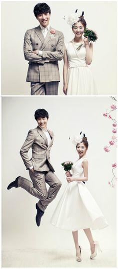 Elegant Korea wedding photography concept photos in studio / May Studio on OneThreeOneFour / www.onethreeonefour.com