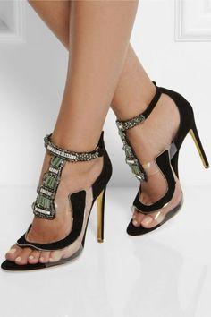 31 Sandles Shoes To Copy Now - Shoes Market Experts Dream Shoes, Crazy Shoes, Me Too Shoes, Zapatos Shoes, Shoes Heels, Flats, Pumps, Pretty Shoes, Beautiful Shoes