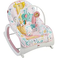Fisher-Price Infant-To-Toddler Rocker Multi - The Fisher-Price Infant-to-Toddler Rocker grows with your baby for fun, happy seating. It starts as an infant rocker or stationary seat with overhead toys, then converts to a toddler rocker. Baby Bouncer, Baby Bassinet, Crib Swing, Swing Seat, Bb Reborn, Reborn Babies, Baby Sense, Baby Rocker, Baby Chair