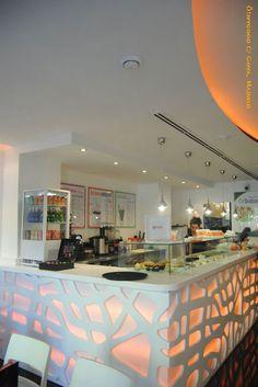"Ice-cream Shoop Interior Design - Silvan Francisco, ""Ö!mygood"", in Spain. 2012"