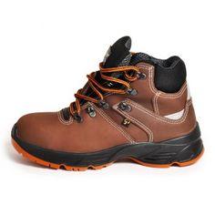Μποτάκι Εργασίας Καφέ Χωρίς Προστασία Hiking Boots, Shoes, Fashion, Moda, Shoe, Shoes Outlet, Fashion Styles, Fashion Illustrations, Fashion Models