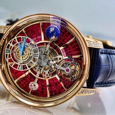 Astronomia Tourbillon Ruby Baguette: Triple Axis Gravitaional Tourbillon By…