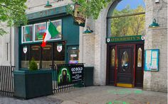 O'Doherty's Irish Grille. Fish & Chips to die for. Casual place. Yummy food.