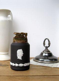 Vintage Wedgwood Black Basalt Jasperware Grecian