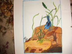 BLUE JAY ON ROCKS Blue Jay, Art Work, Rocks, Painting, Artwork, Work Of Art, Paintings, Stone, Draw