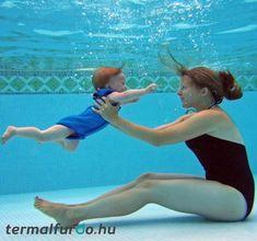 9 benefits of baby swimming Baby & Toddler Swimwear, Baby Swimwear, Baby Swimming Lessons, Swim Lessons, Alpine Pools, Swim School, Baby Mermaid, Nautical Baby, Senior Living