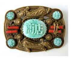 Neiger brooch with the crazy big-lipped fish