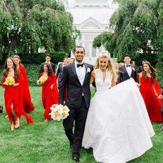 A Vibrant Bash at the New York Botanical Garden | Brides.com
