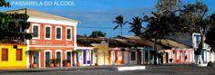 Passarela do Álcool em Porto Seguro, Bahia,para quem gosta de tomar uns drinks é perfeito!