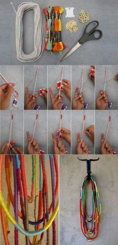 comment fabriquer collier amitie