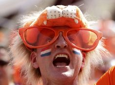 Dutch soccer fan // Euro 2012 // Kharkiv