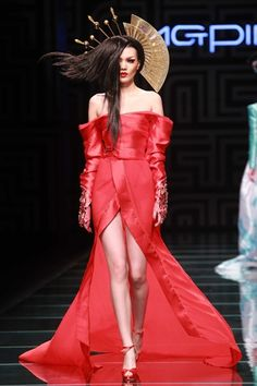 Mao Geping makeup trends show