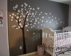 Tree Wall Decal for Nursery. Contemporary by SurfaceInspired