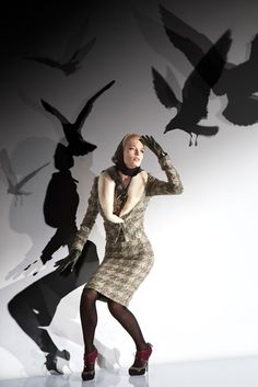 Let's hear it for the birds, from John Galliano pre-fall 2012
