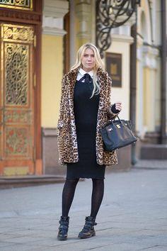 Zhanna Bianca - Уличная мода осень 2014 в Москве