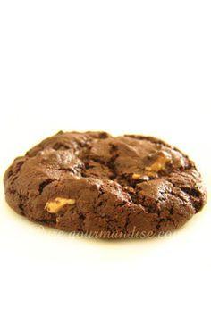 Cookies aux 3 chocolats (noir, blanc, lait ou pralin�) - www.Puregourmandise.com