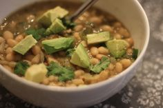 White Bean Chicken Chili from Simple Nutrition