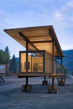 The Rolling Huts in Mazama Washington Olson Kundig Architects
